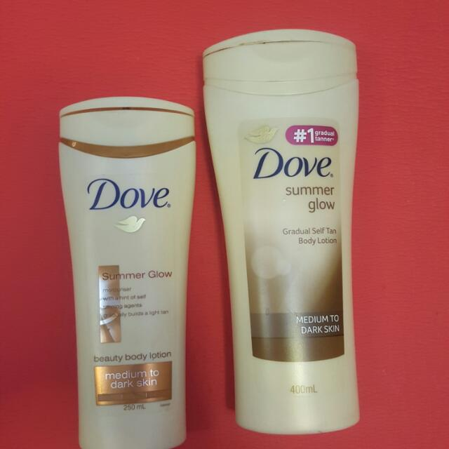 Dove Self Tan Medium To Dark