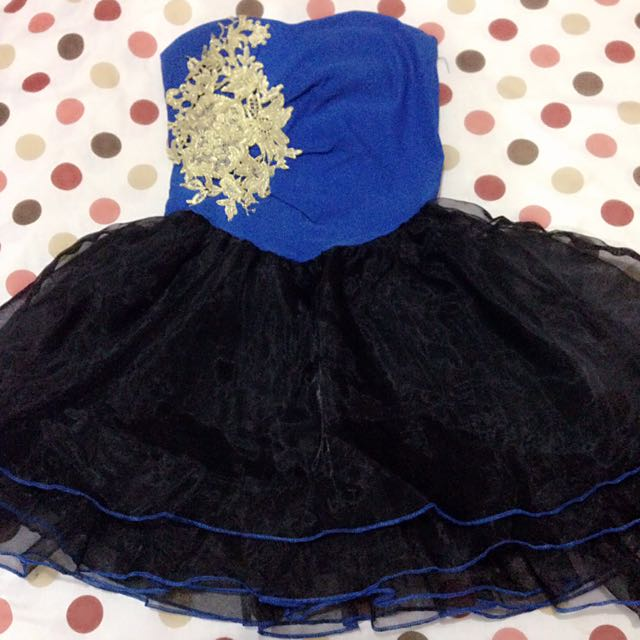 Dress Baby Doll Blue