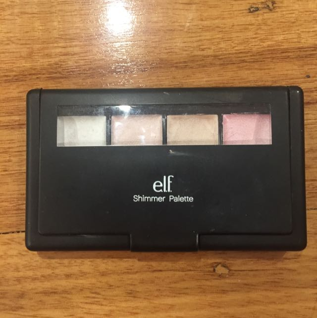 ELF Shimmer Highlight Palette Cream