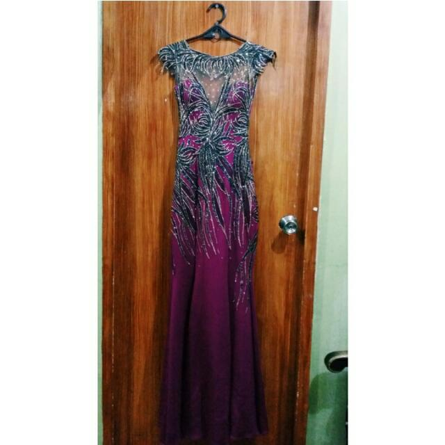 Gatsby Themed Formal Gown
