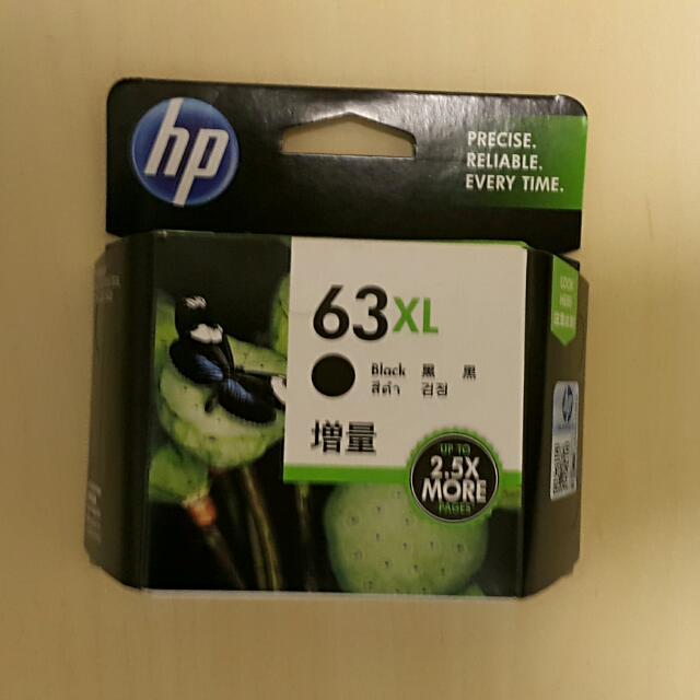 Genuine HP 63XL Black Ink Cartridge