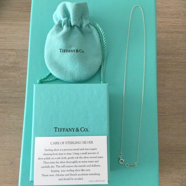 Genuine Tiffany & Co 16 Inch Chain