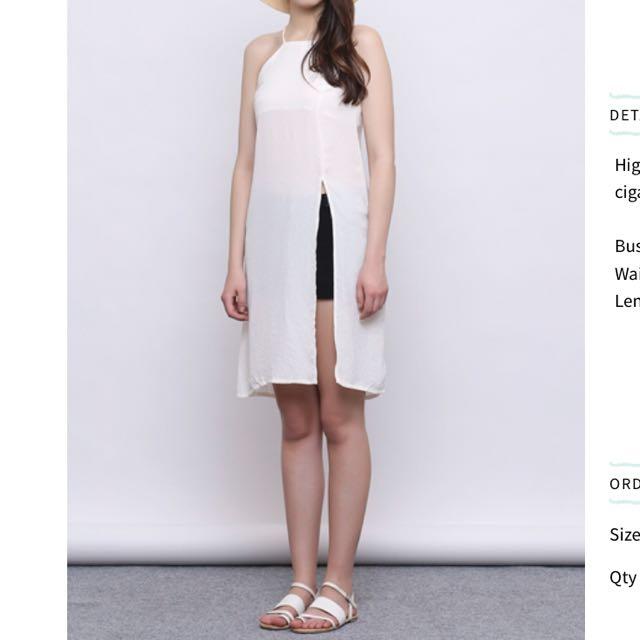 Halter Dress Bambinacloset