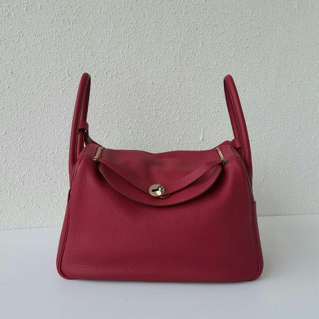 59f48d827762 Price Reduced - Hermes Lindy 34 In Rubis (Stamp O) Good Condition ...
