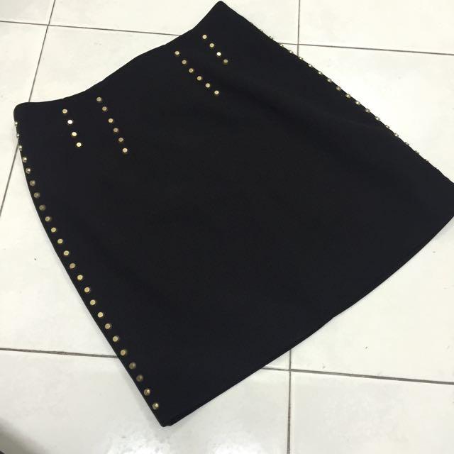 NEW!! H&M Studded Skirt