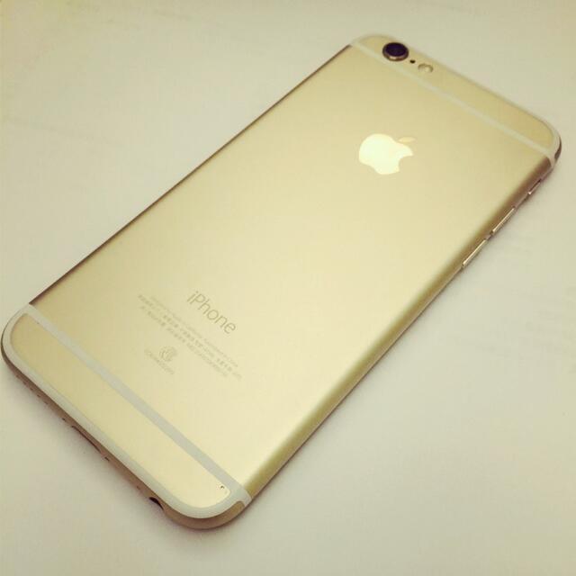 (誠可議)I phone 6 金色4.7吋 128g