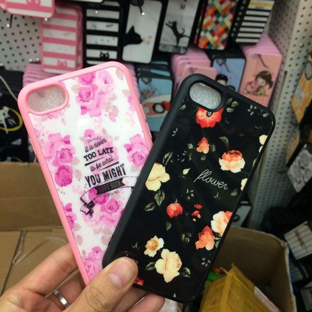 【無殼蝸牛】iphone 7 7 PLUS iphone手機殼 小碎花 玫瑰 茶花