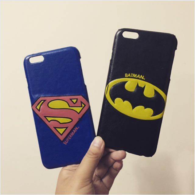 iPhone 手機殼 超人蝙蝠俠