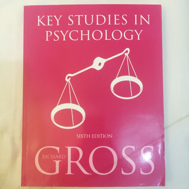 New Key Studies in Psychology (Psychology College Student Or A-Levels)