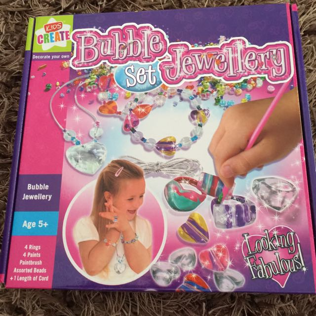Kids Craft Jewellery Set