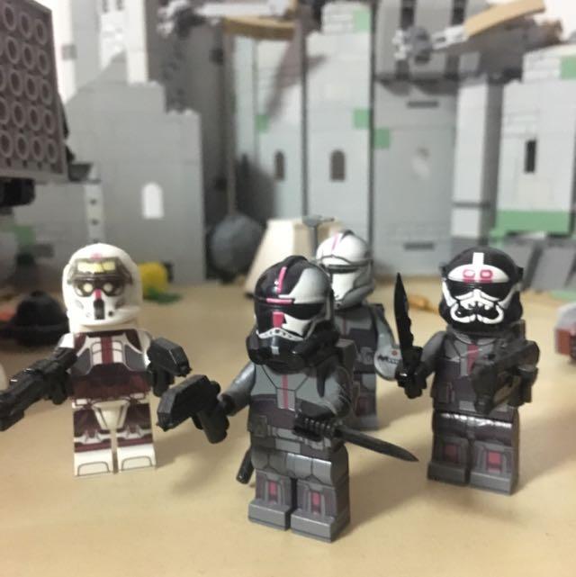 LEGO CUSTOM STAR WARS CLONE BAD BATCH Aka Clone Force 99 Minifigures Toys Games On Carousell