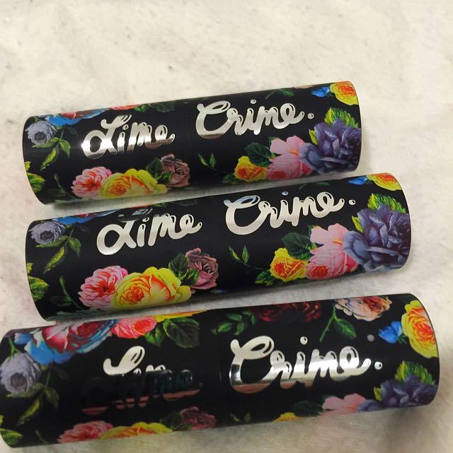 LimeCrime Lipsticks