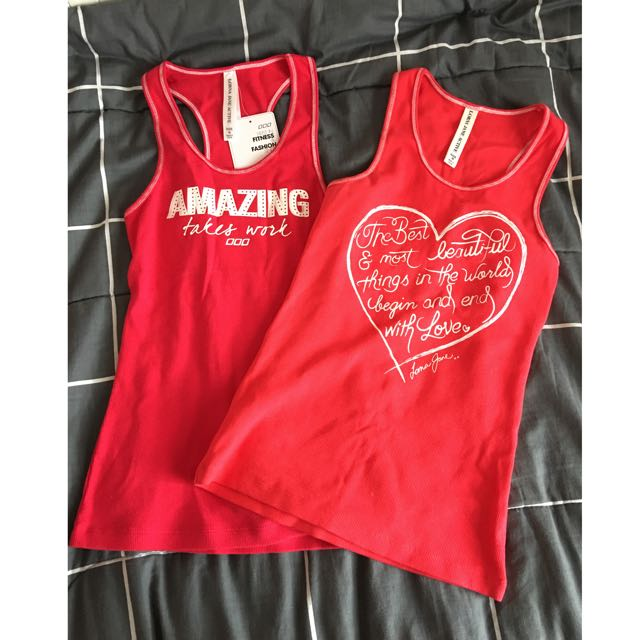 Lorna Jane Active Tank Tops