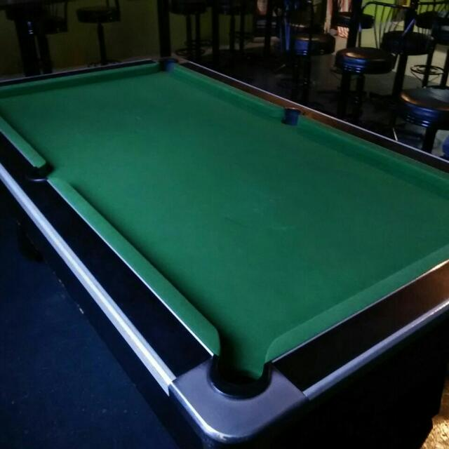 Marvel Pro Ft British Pool Table With Coin Operator Toys Games - British pool table