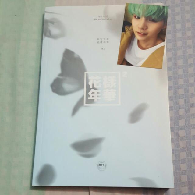 Mini Album Vol. 4 The Most Beautiful Moment In Life Part 2 (Blue Version)