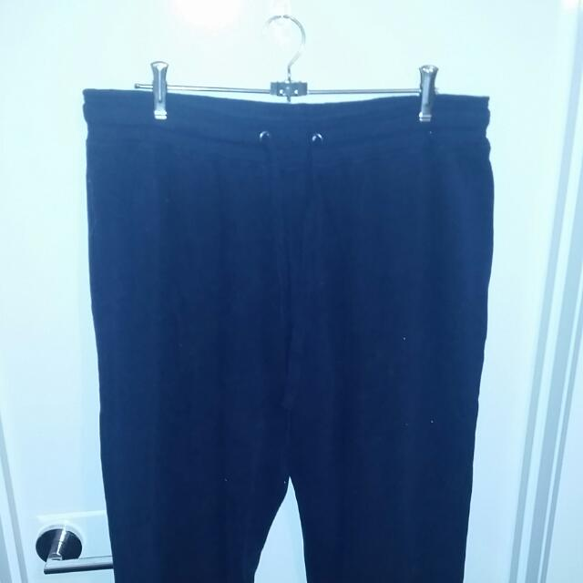 Navy Blue Trackies Size +M