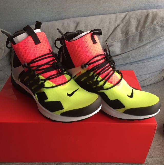 Nike ACRONYM Air Presto Mid Hot Lava