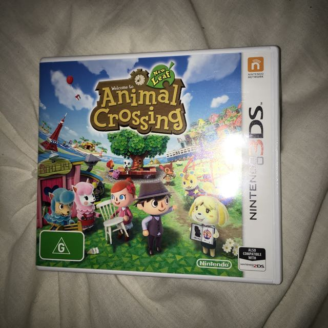 Nintendo 3DS Animal Crossing Game