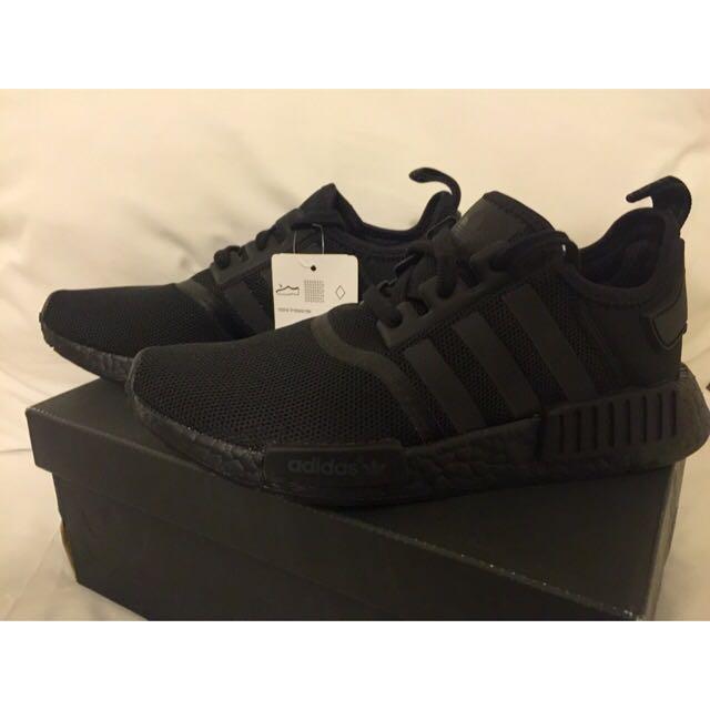 NMD_R1 Adidas Triple Black US7