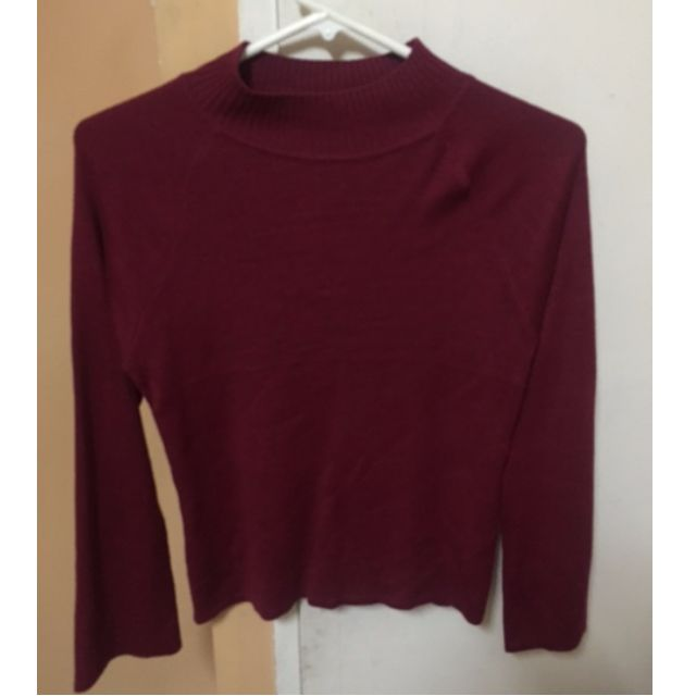 Penshoppe red sweater
