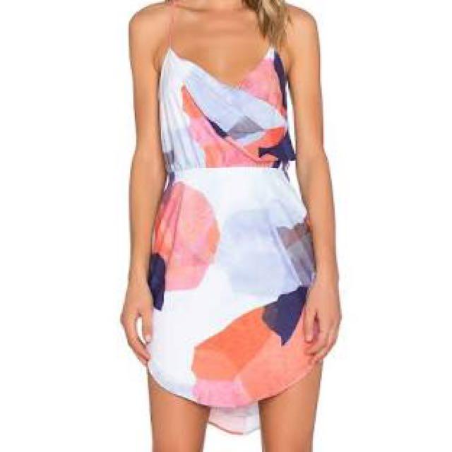 Premonition Designs Illusive Dream Wrap dress Size 12