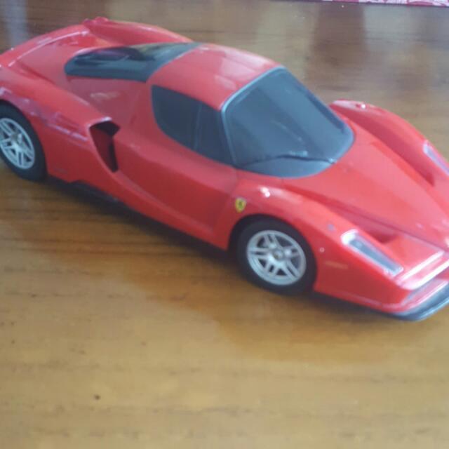 Red Ferrari Toy Car Toys Games Bricks Figurines On Carousell