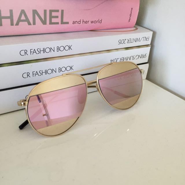 Split sunglasses