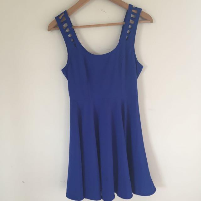 Blue Dress- Temt