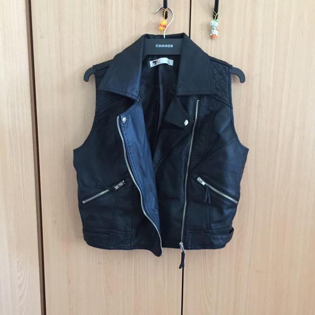 Temt Leather Vest