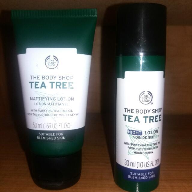 The Body Shop Tea Tree(Turun Harga)