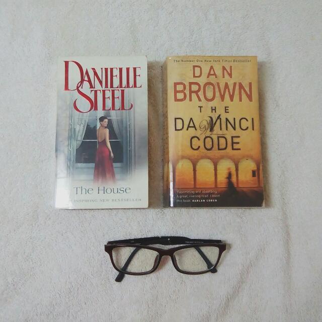 The House and The Da Vinci Code Book Bundle