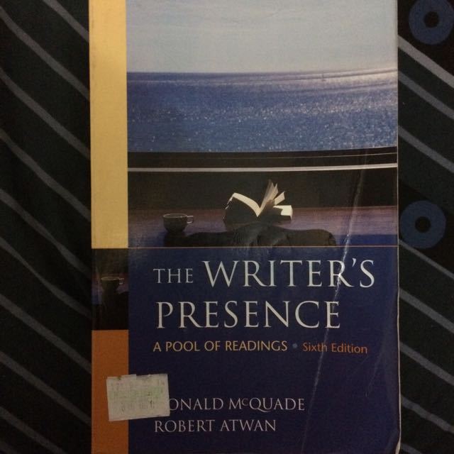 The Writer's Presence - Collection of Short Stories and Essays