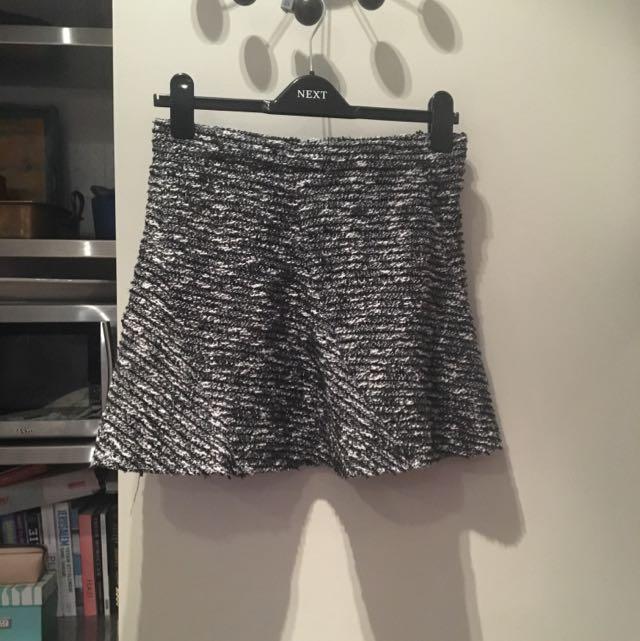 Tweed Zara Mini Skirt