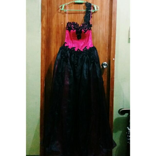 Two Tone Ball Gown
