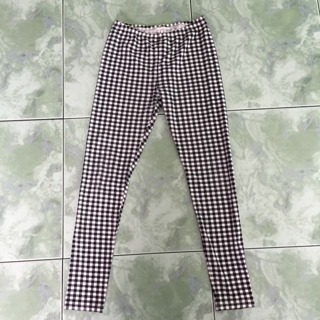 Uniqlo Gingham Legging