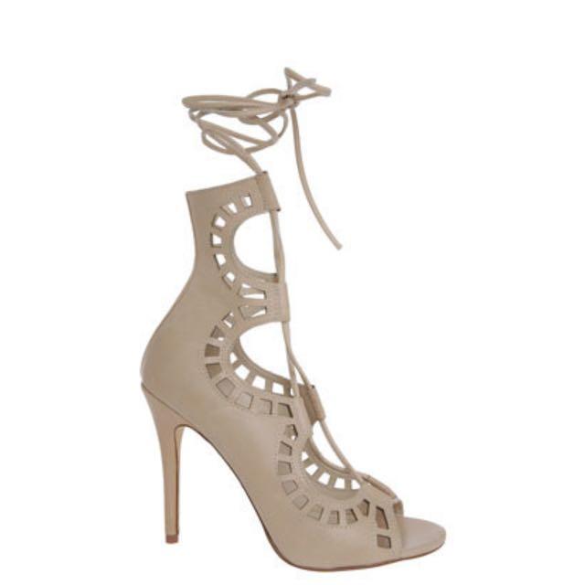 Windsor Smith Gillie Bone Heels