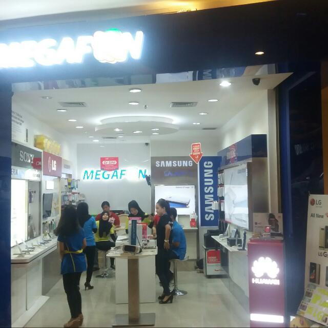 yuk dateng ke mall pejaten village lantai 2 toko megafon everything rh id carousell com