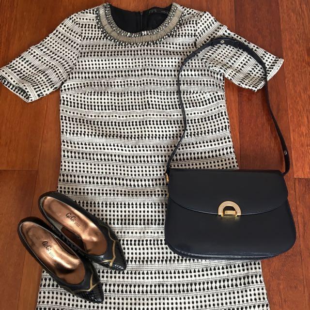 Zara Dress Size XS Great Condition Very Vintage