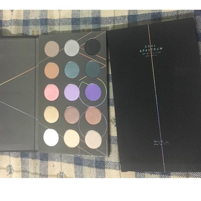 Zoeva cool spectrums palette