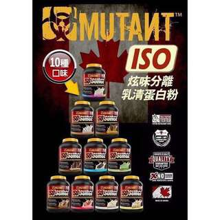 Mutant ISO SURGE 水解乳清蛋白