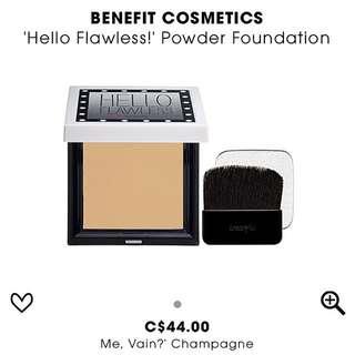 Benefits Hello Flawless Powder