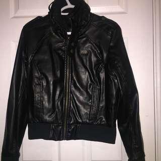 Apple Bottom Leather Jacket