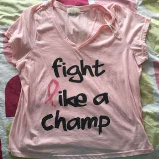 "Pink ""Fight like a Champ"""