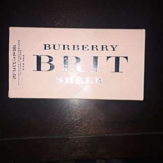 Burberry Brit Sheer Eau De Toilette