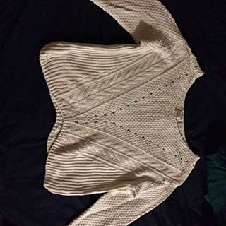 Forever 21 Knitted White Sweater