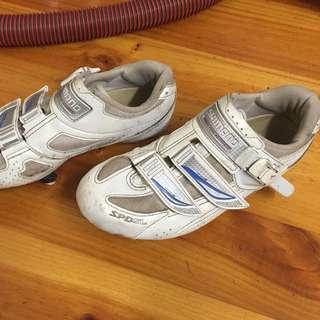 Road Bike Shoes Sz 9.5