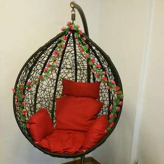 Brand new Swing Chair. Cheapest in Carousell. No dents or marks.Just opened. Negotiable for fast deal.  No low Ballers
