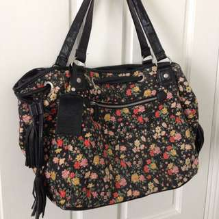 Billabong Large Floral Handbag