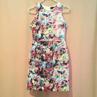 Oxford Floral Dress Size 6
