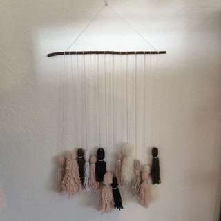 Extra Large Handmade Wall Hanging